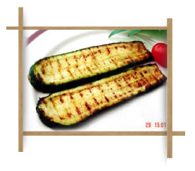 Frozen Grilled Long Cut Zucchini