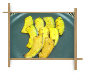 Frozen Grilled Curved Cut Pumpkin S Size